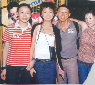 Three of the actresses and I assume Lawrence Lau