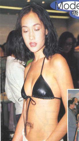 Maggie Q Swimsuit