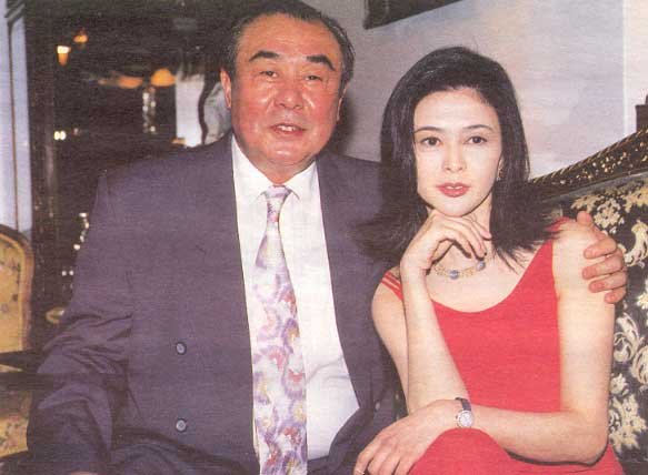 Rosamund with her father Kwan Shan - well known actor from the 60s
